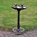 Kingfisher Plastique Bain d'oiseaux Effet bronze de la marque Kingfisher image 1 produit