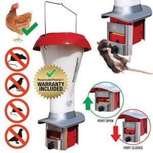 Kit de distributeur de nourriture pour volaille anti-rat PestOff – Grand distributeur de nourriture pour volaille anti-oiseaux et anti-rat – résistant aux intempéries – capacité 4 L – NOUVEAU de la marque PestOff image 0 produit