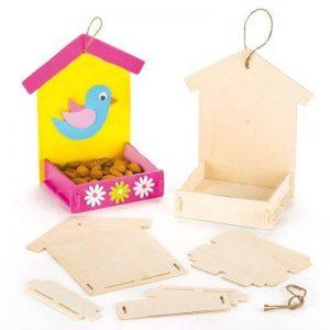 kit mangeoire oiseaux bois TOP 6 image 0 produit