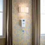 KOOKOO BirdHouse blanco horloge murale avec 12 chants des oiseaux enregistrement naturels ou coucou horloge coucou design moderne avec pendule de la marque KOOKOO image 3 produit