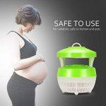 Lemonbest Lampe de tueur de moustique de LED, insecte Zapper léger portatif mouche Piège électrique d'éclairage allumeur anti-parasite de guêpe avec le câble d'USB (vert clair) de la marque Lemonbest image 3 produit