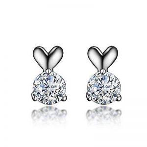 Lindacase Charm Boucles d'oreilles en argent sterling, femme d'anniversaire, cadeaux, bijoux pour femme, des cadeaux pour les filles de la marque LindaCase image 0 produit
