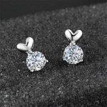 Lindacase Charm Boucles d'oreilles en argent sterling, femme d'anniversaire, cadeaux, bijoux pour femme, des cadeaux pour les filles de la marque LindaCase image 1 produit