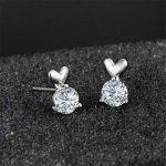 Lindacase Charm Boucles d'oreilles en argent sterling, femme d'anniversaire, cadeaux, bijoux pour femme, des cadeaux pour les filles de la marque LindaCase image 2 produit