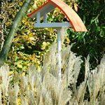 Luxus-Vogelhaus 31012e New Wave Mangeoire pour oiseaux avec pied de support Blanc/toit orange Hauteur totale env. 183cm de la marque Luxus-Vogelhaus image 1 produit