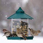 LvLoFit Non Désordre Imperméable en Bonne Ordre Mangeoire à Oiseau Forme de la Maison pour Jardin Balcon Maison de la marque LvLoFit image 1 produit
