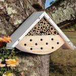 Maison d'abeilles pour abeilles solitaires, hôtel d'insecte pour les amants d'abeille, idée parfaite de cadeau pour les gardiens d'abeille de la marque LA JOLIE MUSE image 2 produit