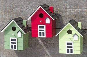 Maison d'oiseau nichoirs coloré 20cm de la marque Boltze image 0 produit