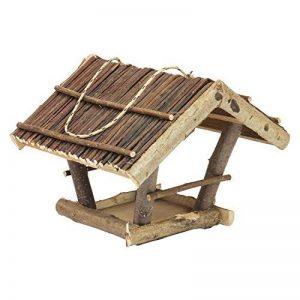 Mangeoire d'oiseaux du jardin, ecologique en bois, differents modeles au choix; modele 3 de la marque TINTOURS image 0 produit