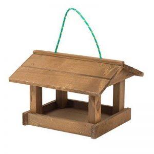 Mangeoire d'oiseaux du jardin, ecologique en bois, differents modeles au choix; modele 4 de la marque TINTOURS image 0 produit