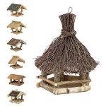 Mangeoire d'oiseaux du jardin, ecologique en bois, differents modeles au choix; modele 4 de la marque TINTOURS image 3 produit