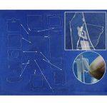 Mangeoire Distributeur Automatique Clair Acrylique pour Cage à Oiseaux Perroquet Trémie Unique Moyen de la marque Générique image 3 produit