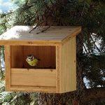 Mangeoire/Nichoir pour oiseaux en mélèze de la marque BABAZINOV image 1 produit