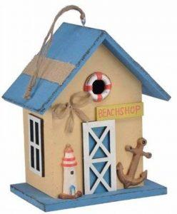 Mangeoire nist Oiseaux dans le design Maritime dans beige de la marque Trendkontor image 0 produit