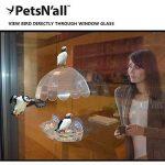 Mangeoire Oiseau PetsN'all - Mangeoire Oiseaux Pour Extérieur à Suspendre à Un Fenêtre de la marque PetsN'all image 4 produit