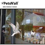 Mangeoire Oiseau PetsN'all - Mangeoire Oiseaux Pour Extérieur à Suspendre à Un Fenêtre de la marque PetsN'all image 1 produit