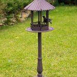 Mangeoire à oiseau volière - style antique - fonte - 105cm de la marque aubaho image 1 produit