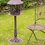 Mangeoire à oiseau volière - style antique - fonte - 105cm de la marque aubaho image 3 produit
