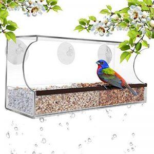 mangeoire oiseaux avec ventouse TOP 1 image 0 produit