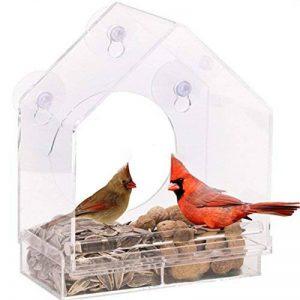 mangeoire oiseaux avec ventouse TOP 8 image 0 produit