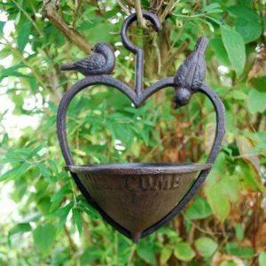 mangeoire oiseaux fonte TOP 2 image 0 produit