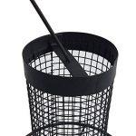 Mangeoire pour oiseaux 31 cm à suspendre - Grille en métal noir - Spendeur de nourriture idéal pour noix et tournesol de la marque PROHEIM image 3 produit