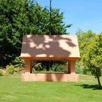 Mangeoire pour oiseaux grand buffet en bois massif, fabrication artisanale de la marque Nichoirs-Mangeoires image 1 produit