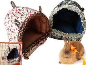 Mkouo Petit animal hamac cochon d'inde suspendu jouet douillet refuge pour écureuil Chinchilla Hamster cobaye Rat souris, 25,4x25,4x20,3 cm de la marque Mkouo image 0 produit
