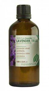 Naissance Huile Essentielle de Lavande Vraie - 100ml - 100% pure, vegan et sans OGM de la marque Naissance image 0 produit