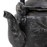 Nichoir à Oiseaux à Suspendre Modèle Vieille Bouilloire en Polyrésine Noire de la marque Gardens2you image 3 produit