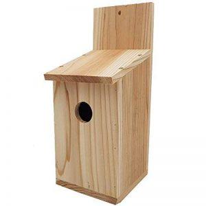 Nichoir 'Basic' pour oiseaux 30 x 14 x 12 cm en bois de pin idéal pour mésanges, mésanges charbonnière,geais des chênes et d'autres petits oiseaux - Résistant aux intempéries de la marque PROHEIM image 0 produit