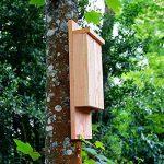 Nichoir à chauve souris - Nichoir pour pipistrelle - Fabrication artisanale en bois de la marque Nichoirs-Mangeoires image 3 produit