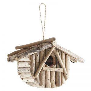 Nichoir à oiseaux en bois flotté de la marque AUBRY GASPARD image 0 produit