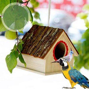 nid en bois pour oiseaux TOP 7 image 0 produit