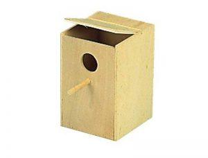 Nobby Nichoir en Bois pour Perruche 15 x 16 x 23 cm de la marque Nobby image 0 produit