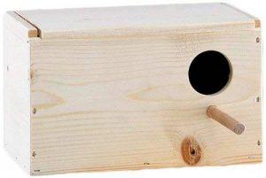 Nobby Nichoir en Sapin pour Perruche 24 x 14,5 x 14,5 cm de la marque Nobby image 0 produit