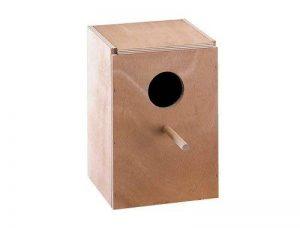 Nobby Nichoir Vertical pour Grande Perruche 25 x 25 x 36 cm de la marque Nobby image 0 produit