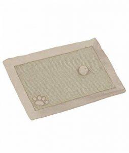 Nobby Tapis Grattoir en Sisal pour Chat Beige/Blanc 58 x 38 cm de la marque Nobby image 0 produit