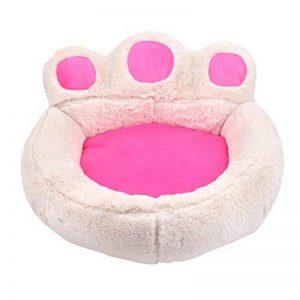 Ours Patte Chien Chat Chambre de Lit Doux Chaud Nichoir Nest Snuggly Pet Matelas de Sommeil Canapé Taille S 56 x 52 cm de la marque UEETEK image 0 produit