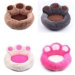 Ours Patte Chien Chat Chambre de Lit Doux Chaud Nichoir Nest Snuggly Pet Matelas de Sommeil Canapé Taille S 56 x 52 cm de la marque UEETEK image 2 produit
