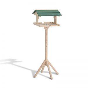Pawhut Mangeoire Oiseaux sur Pied Grande Taille avec Toit Vert Bois Massif de pin 50 x 50 x 121 cm Neuf 42 de la marque Pawhut image 0 produit