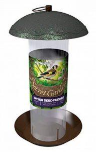 Peckish Mangeoire à oiseaux Secret Garden 17x 17x 20cm Mangeoire à graines de Niger 14x14x25 cm Green de la marque Peckish image 0 produit