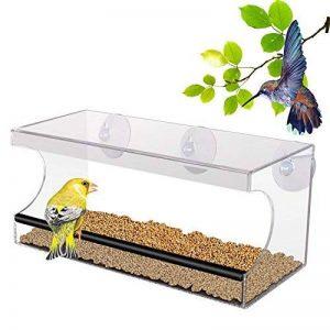 PEDY Mangeoire pour Oiseaux,Nourriture pour Oiseau Alimentation Dispositif Orthogone 30.2*10.2*13cm de la marque Pedy image 0 produit