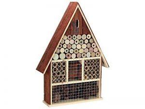 Perel bb50503Grand Hôtel à insectes en bois avec toit écorce de la marque Perel image 0 produit