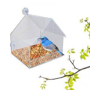 petsn 'all Transparent fenêtre Mangeoire à oiseaux 201618cm de la marque PetsN'all image 0 produit
