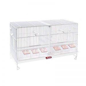 Pierre Cage élevage Oiseaux, Blanc, 61x 31x 37cm, 50250 de la marque Pedros image 0 produit