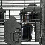 Prevue Pet Products Petite Cage à Oiseaux Dometop 3161blk martelé, Noir de la marque Prevue Hendryx image 3 produit