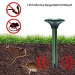 Pronghorn Solaire Repulsif Ultrasonique Souris Rongeur Rat Serpent Taupe Mulot Antiparasitaire (2) de la marque Pronghorn image 4 produit