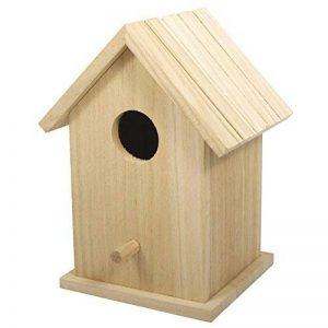Rayher Hobby boîte 62291000 nichoir à oiseaux en bois fSC mix credit 12 5 x 10 x 17 cm 2 pièces de la marque Rayher Hobby image 0 produit