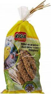 Riga Millet en Grappes GM à l'Anis pour Oiseaux Sachet de 300 g - Lot de 3 de la marque Riga image 0 produit